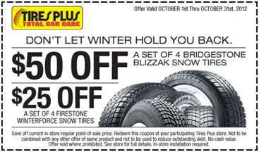 Continental tires discount coupons
